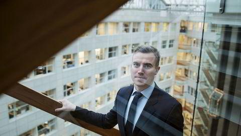 I fjor formidlet Kameo lån for totalt 300 millioner kroner i Skandinavia, hvorav knappe 27 millioner kroner var i Norge. Her er gründer og daglig leder Sebastian Martens Harung.