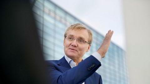 – Vi forhandlet med Storebrand i flere måneder, sier Kolbjørn Haarr, konserndirektør i Evry Norge.