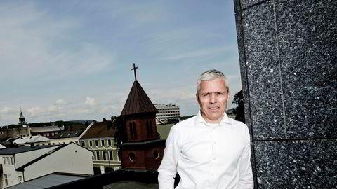 Dag Rasmussen, administrerende direktør hos Rasmussengruppen i Kristiansand, er strålende fornøyd med seismikksatsingen i Shearwater Geoservices. På drøy tre år er papirgevinst på 4,4 milliarder kroner, men han har ingen planer om å selge.