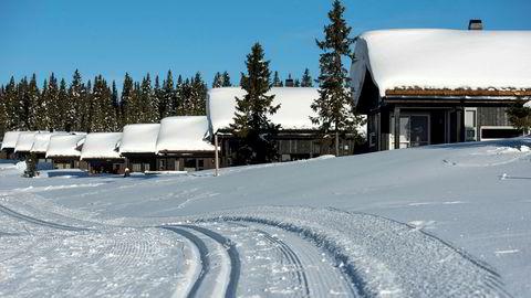 Sjusjøen er ett av mange attraktive, snøsikre hytteområder. Her er hyttene tett på skiløypene, og snø er det nok av.