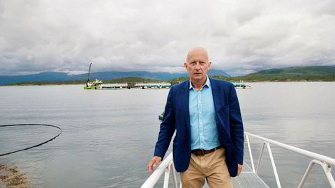 Konsernsjef Brynjar Forbergskog i Torghatten