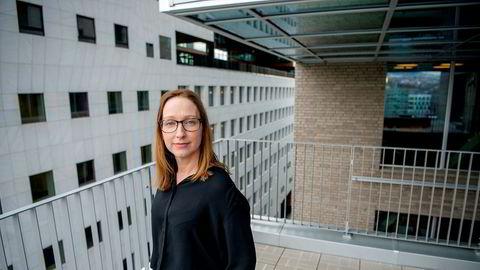 Sjeføkonom Kjersti Haugland DNB Markets mener man må vente flere konkurser og permanente oppsigelser når finanspolitikkens intensivbehandling fases ut.