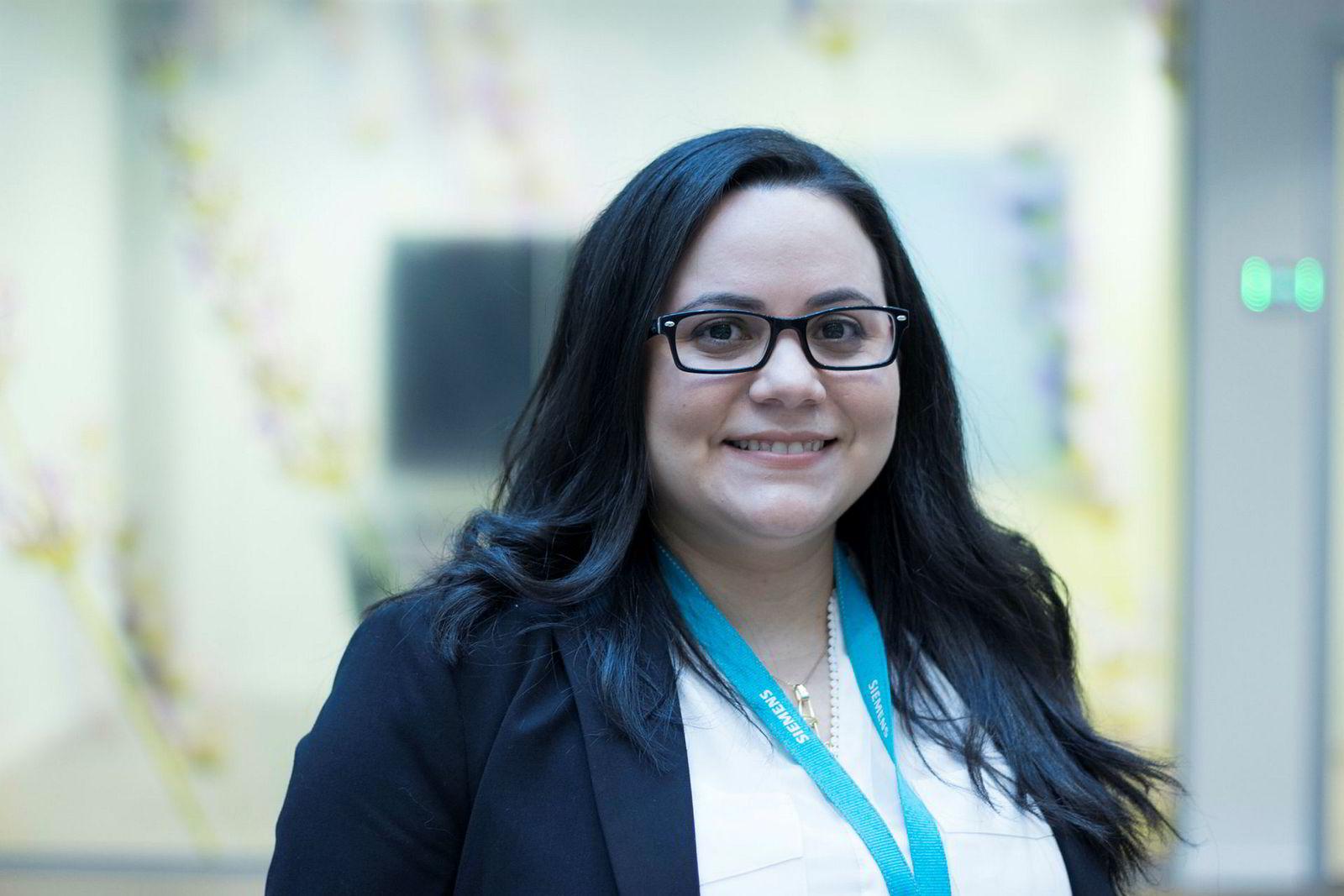 Maria Aveledo er spesialisert på IT-sikkerhet.