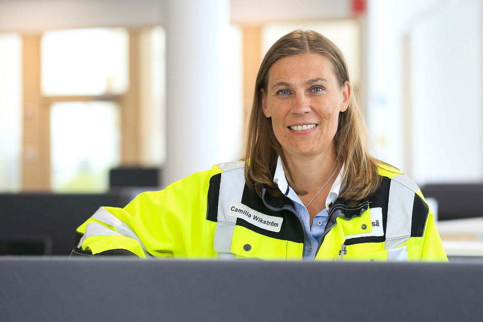 Siemens - Metsä Group fabrikk - industri 4.0 Metsä fabrikk Äänekoski. Camilla Wickström