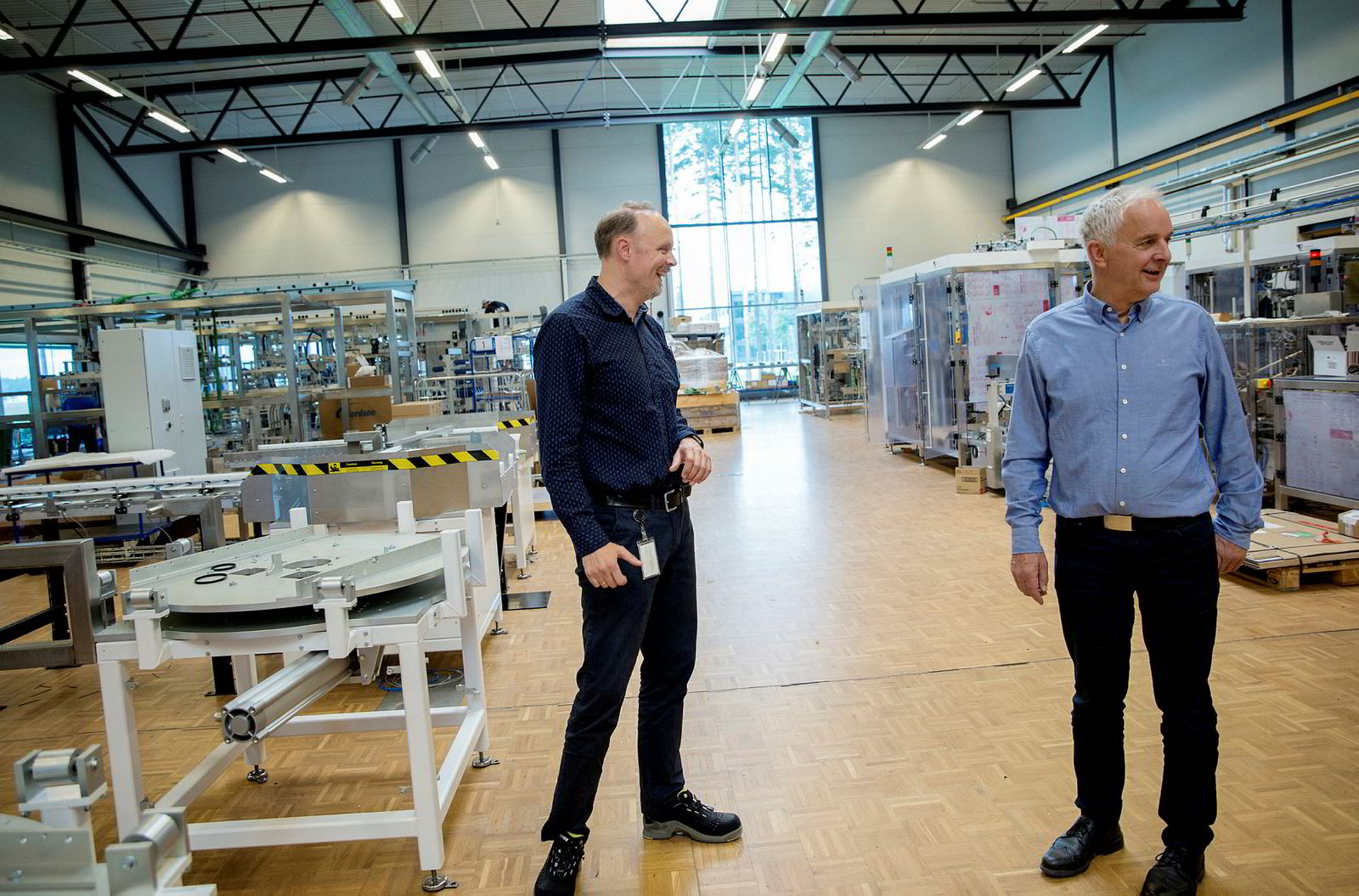 Svein Steinsvik (fra venstre) og Ola Tronrud mener at det er et hav av muligheter og løsninger, for dem som er nysgjerrige nok.