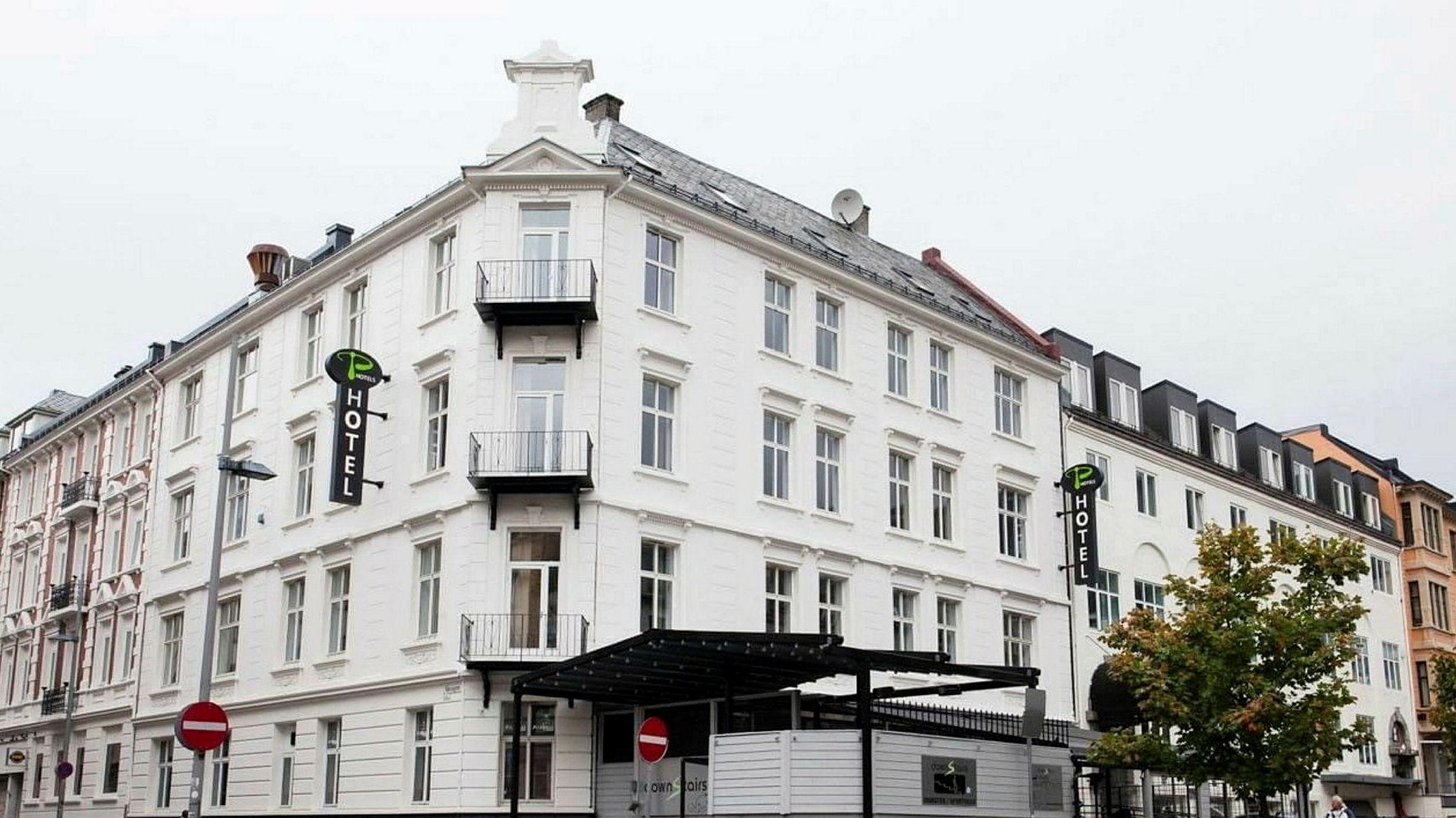 Hotellet i Bergen er ett av tre i kjeden P-Hotels, men det eneste som er begjært konkurs.