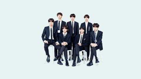 K-pop-bandet BTS.