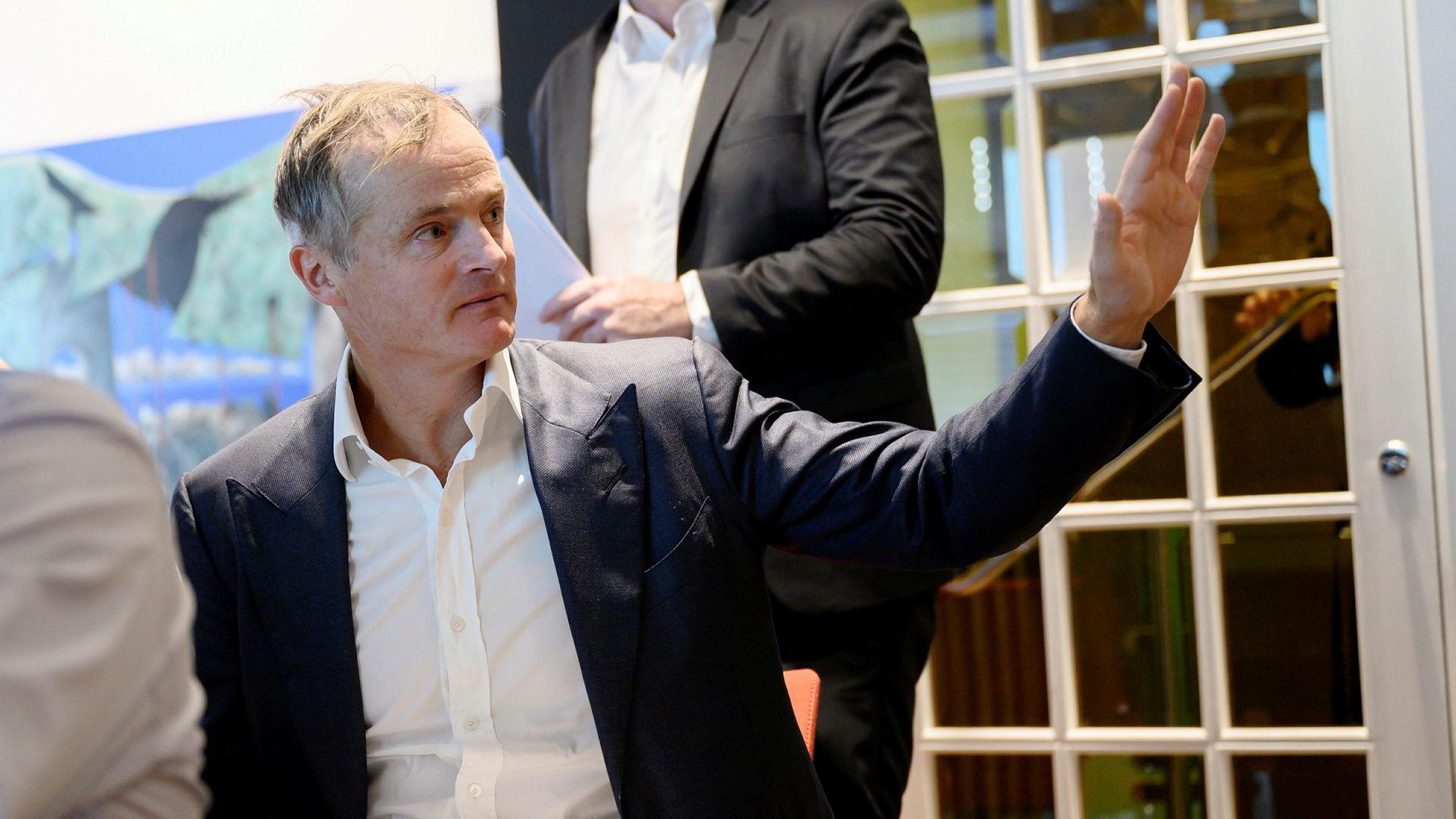 Investor Øystein Stray Spetalen har investert i B2Holding, et inkassoselskap som har vært i hardt vær i år.