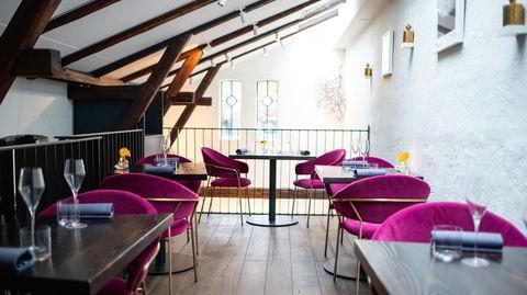 Selv om huset Restaurant Stallen holder til i er lite, har de utnyttet plassen godt.