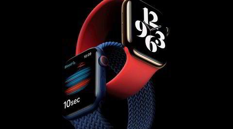 Markedets beste. Markedets beste smartklokke på flere måter er blitt enda litt bedre. Apple Watch 6 har 20 prosent raskere prosessor, forbedret skjerm og en rekke nye farger og klokkeremmer.