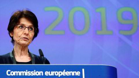 EU-kommisjonær Marianne Thyssen er blant flere som krever fortgang i arbeidet med likelønn i EU.