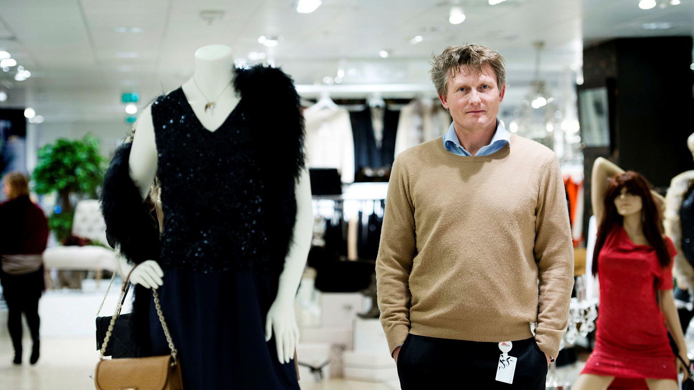 Jotunfjell-gründer Hans Kristian Hov-Melbye har en egen evne til å stable kollapsede butikkonsepter på bena. Her fra 2012 da han tok jobben med å snu pengesluket Steen & Strøm magasin.