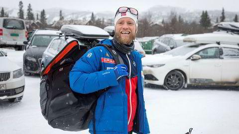 Martin Johnsrud Sundby er en av langrennstjernene som gjennom Future Norway har sponsoravtale med brillemerket Bliz Active.