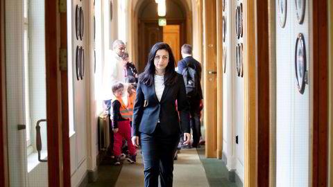 Hadia Tajik og Ap har vært med på et bredt forlik om oljeskatt på Stortinget.