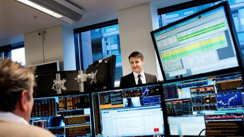 Valutastrateg Nils Kristian Knudsen i Handelsbanken Capital Markets.