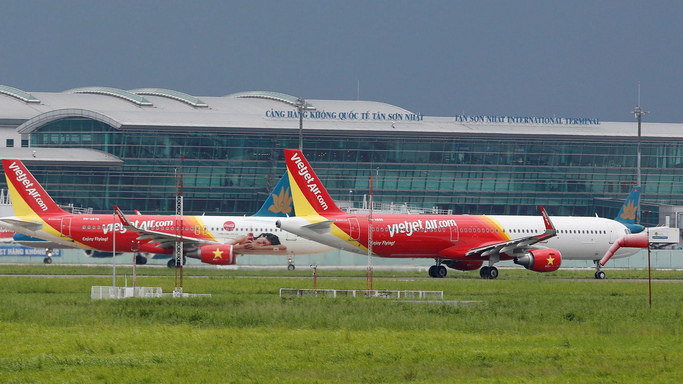 Lavprisselskapet Vietjet Air selger billetter med store rabatter i Sørøst-Asia. En flybillett fra Bangkok til Hanoi koster under 20 kroner før avgifter.