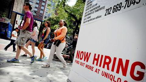 Unge arbeidstakere er spesielt hardt truffet av den økonomiske uroen fulgt av pandemien, ifølge FN.
