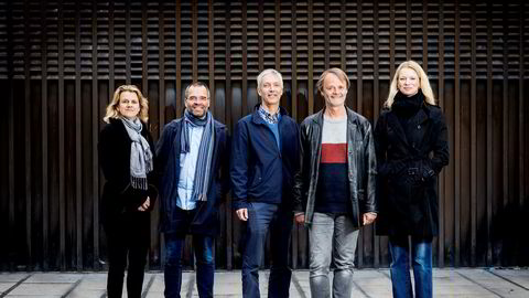 DNs rentepanel tror ikke på renteøkning denne uken. Fra venstre: Hilde Bjørnland, Ragnar Torvik, Steinar Holden, Knut Røed og Kari Due-Andresen.