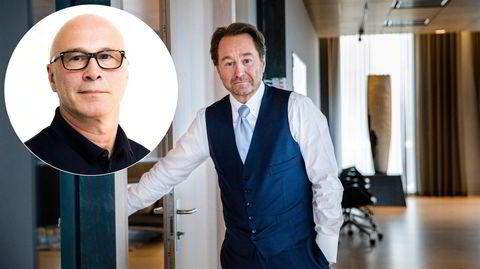 Kjell Inge Røkke på Akers styrerom.