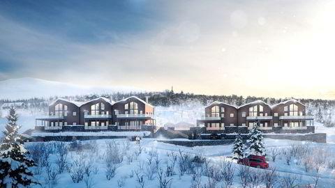 Leilighetsprosjektet Uvdal Lodge på toppen av Uvdal skisenter har planlagt byggestart til våren.