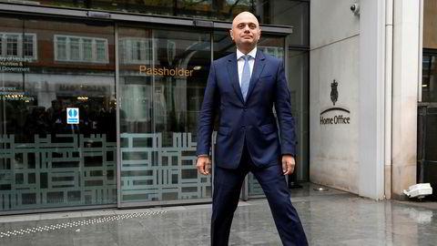 Sajid Javid er ny britisk innenriksminister. Hans politiske karriere har gått rett oppover, i rakettfart.