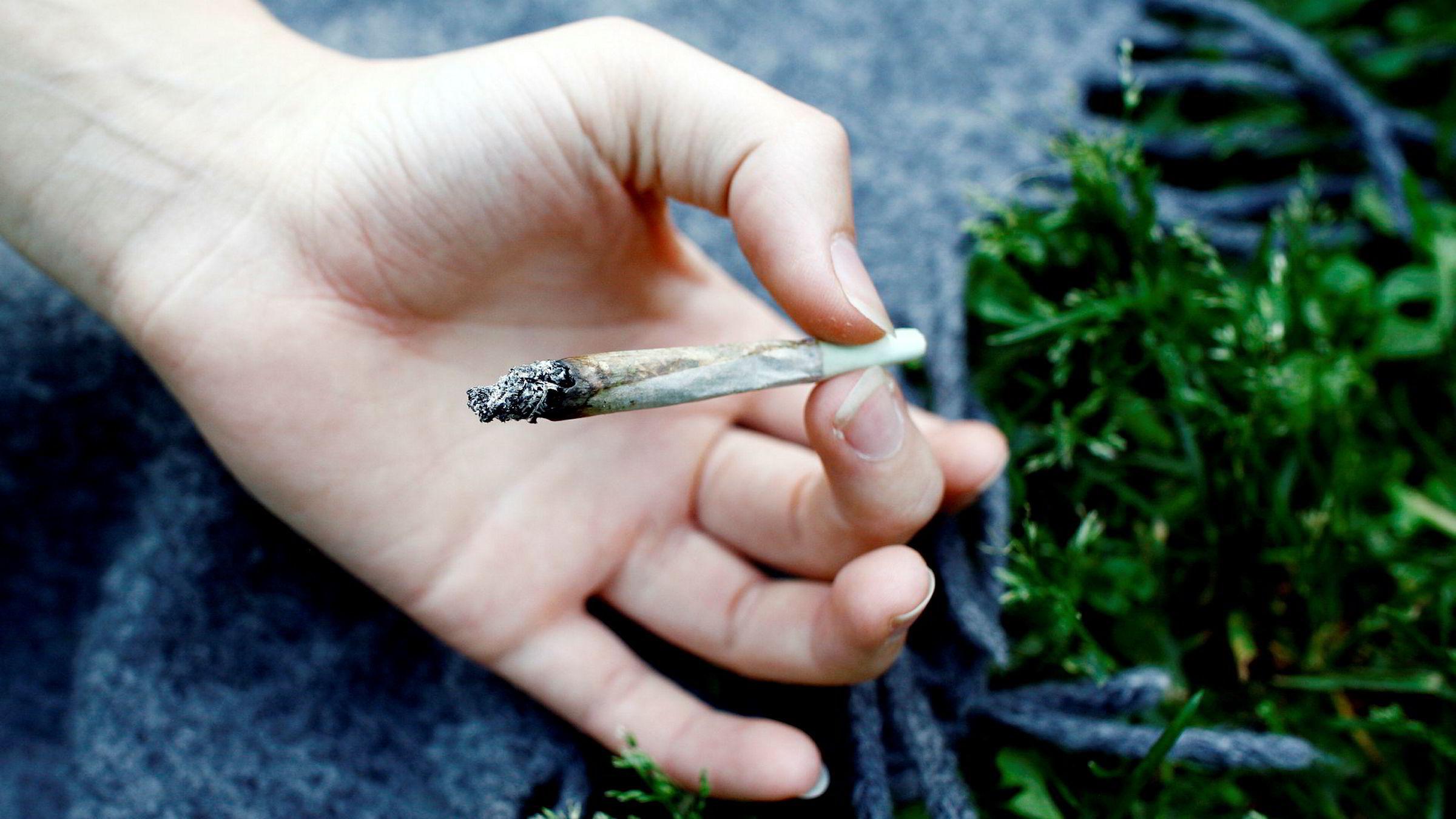 Ungdommer over hele landet har svart på spørsmål om sin cannabisbruk i undersøkelsen.
