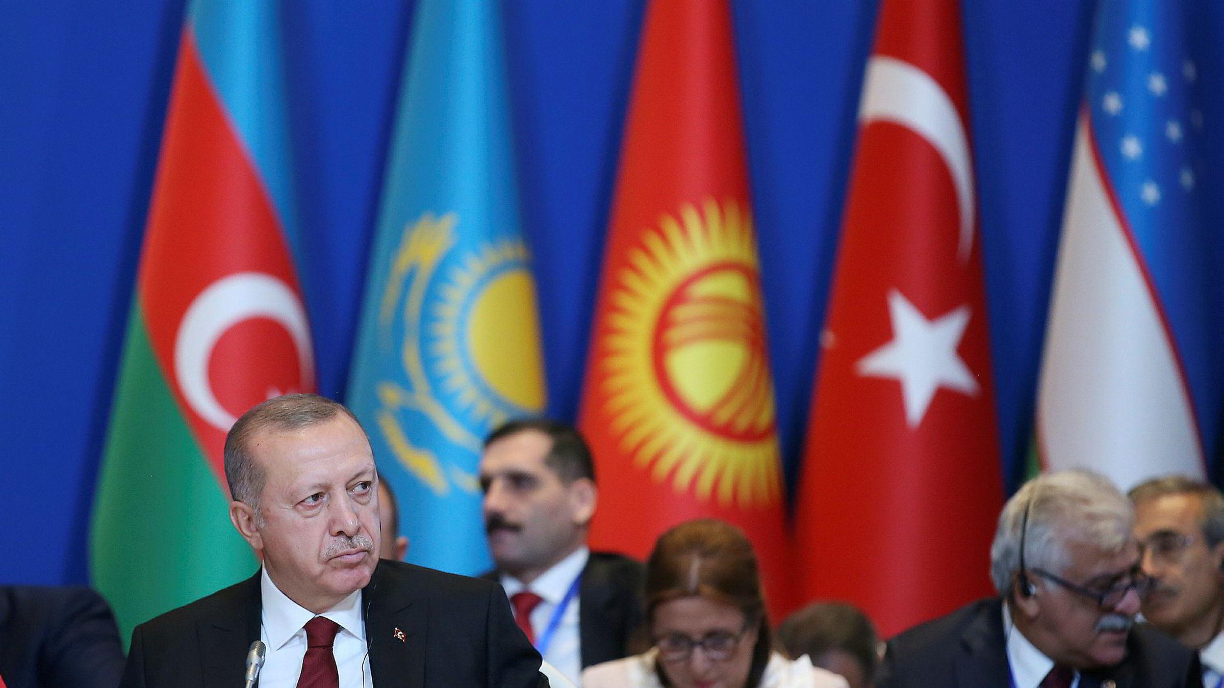 Tyrkias president Recep Tayyip Erdogan vil ikke erklære våpenhvile i Syria.
