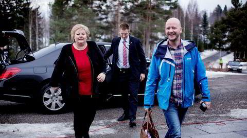 Sigbjørn Aanes var Erna Solbergs nærmeste medarbeider da han var statssekretær.