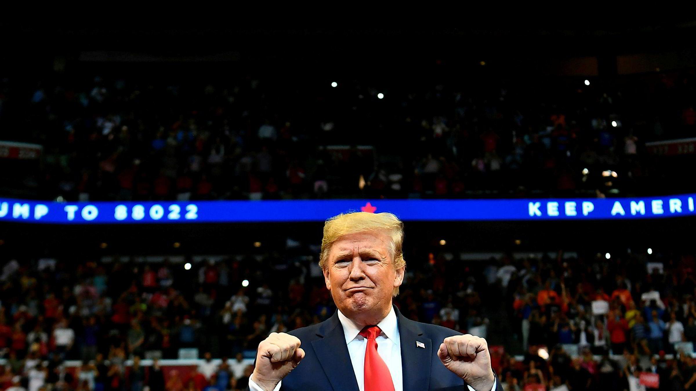Journalister fra Bloomberg News vil ikke få adgang til flere av Donald Trumps valgmøter.