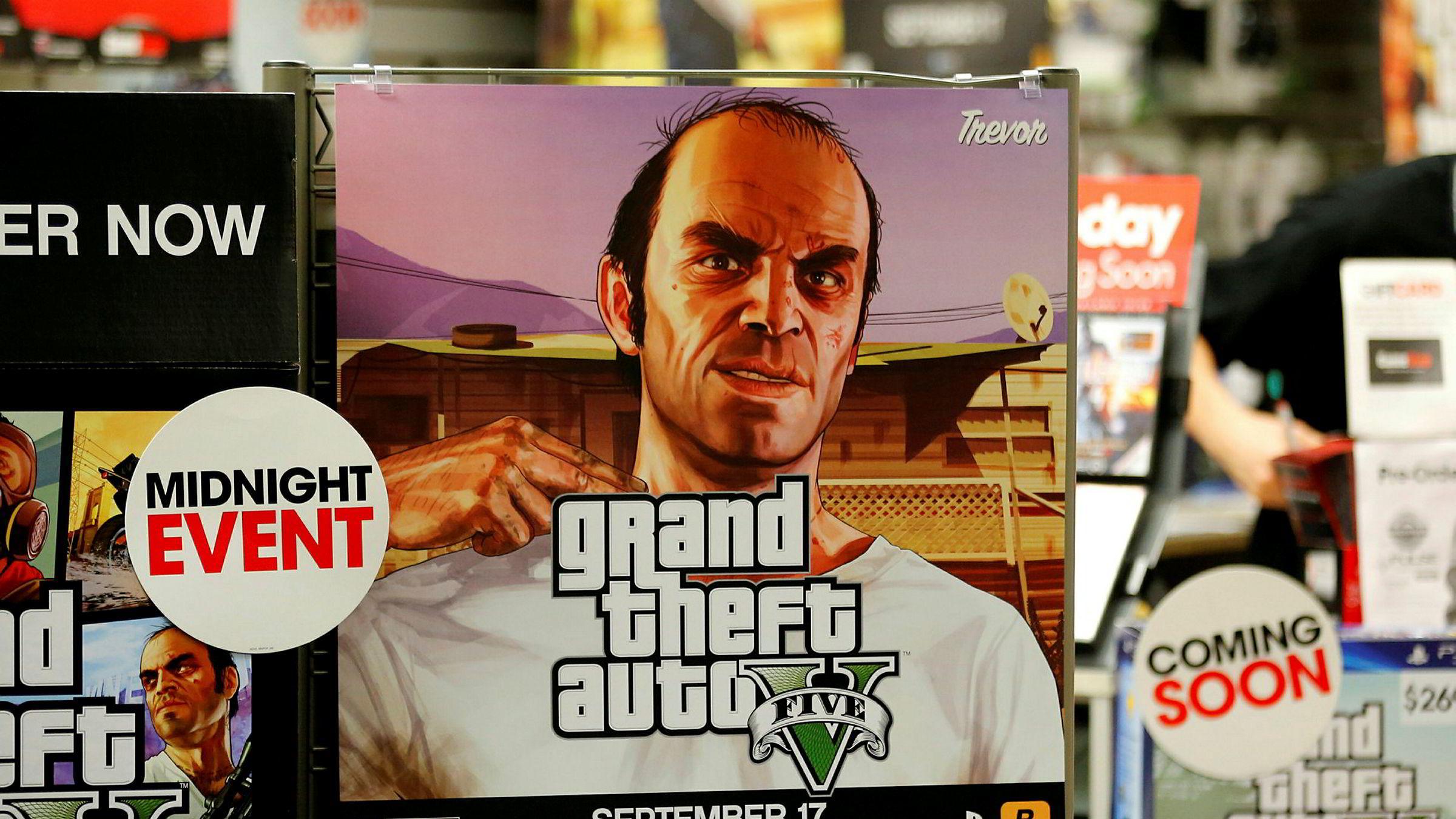 «Grand Theft Auto V» har spilt inn historisk høye summer.