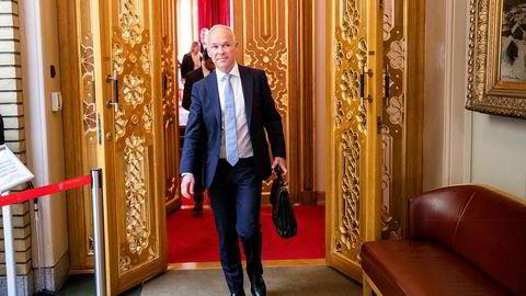 Finansminister Jan Tore Sanner.
