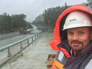 Fredrik Seliussen i Os kommune arbeider for å etablere Lyseparken.