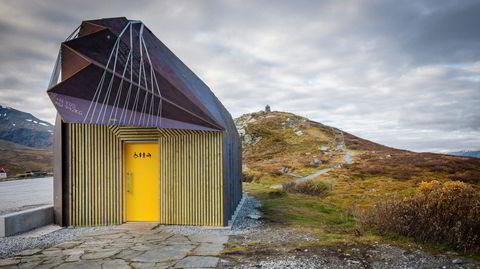 Beltedyrarkitekur. En fremmed art har dukket opp på Sognefjellet. Men trolig slipper nye Oscarshaug rasteplass å bli svartelistet.