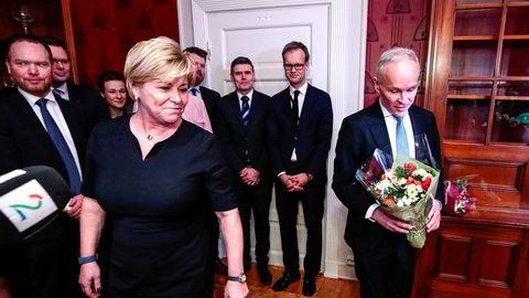 Jan Tore Sanner tok over for Siv Jensen som finansminister i januar. Nå vil hun ha tiltak fra etterfølgeren.