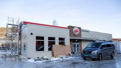 Umoe Restaurants har etablert 25–40 nye Burger King-restauranter hvert år, men i år åpnes bare et fåtall som denne på Gol.
