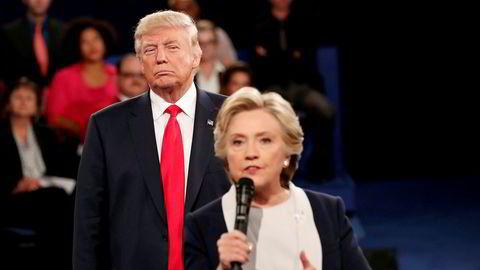 «Denne debatten ga meg valget», har Donald Trump sagt om debatten mot Hillary Clinton i St. Louis i 2016. Torsdag kveld møter han Joe Biden til presidentdebatt.