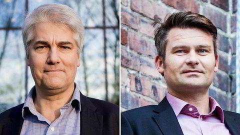 Sjeføkonom Øystein Dørum i NHO og sjeføkonom Roger Bjørnstad i LO mener det var helt riktig av Siv Jensen å gripe inn i omorganiseringen i SSB.