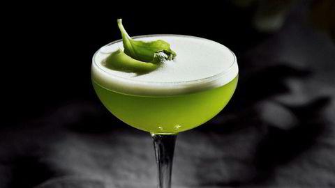 Frisk. Miss Basil er et lett alternativ til tyngre cocktails.