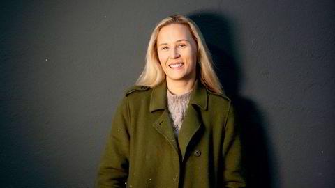 Nyansatt. Kristine S. Bergerud (25) mistet tv-jobben, men har klart å komme seg ut av ledighetskøen.