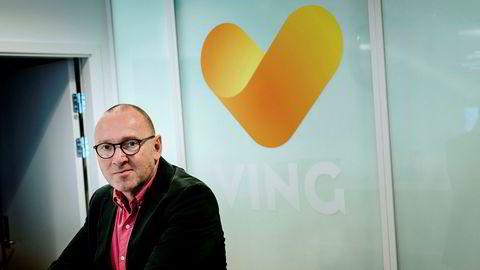 Administrerende direktør Christian Grønli i Ving avviser at det ligger noe dramatikk bak avgangen hans.