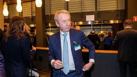 Investor og næringslivsleder Jens Ulltveit-Moe, her fra NHOs årskonferanse i januar i år.