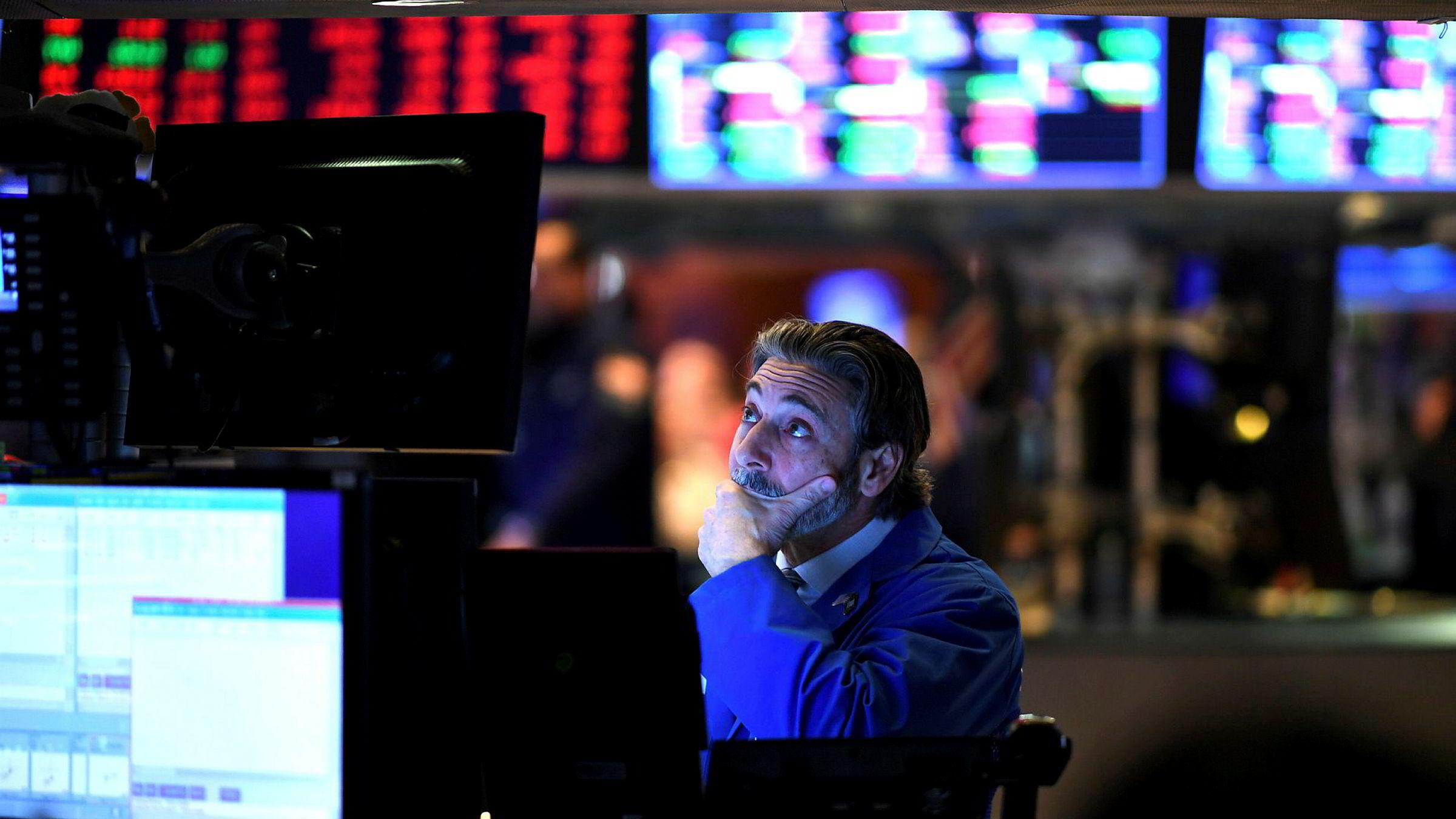 Meglerne på New York Stock Exchange (Nyse) er endelig ferdig med en uke uten sidestykke.