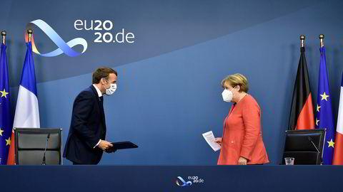 Tirsdag 21. juli kunne Tysklands kansler Angela Merkel og Frankrikes president Emmanuel Macron presentere tidenes krisepakke for EU-landene i Brussel.
