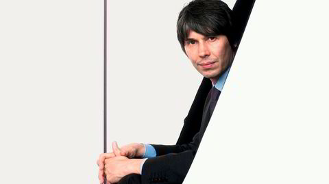 Pop professor. Den yngre Brian Cox spilte keyboards i bandene Dare og D: Ream. Nå fronter han vitenskapsserier som BBCs «The Planets».