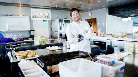 Kjøkkensjef på Maaemo Esben Holmboe Bang er fornøyd med tallene for 2016. For første gang går Maaemo i pluss.