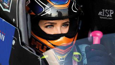 Maja Udtian (21) er Norges eneste sjåfør i Top Fuel, toppklassen i dragracing