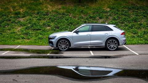 Audi Q8 må ikke, men kan svært lett forveksles med Audi E-tron.