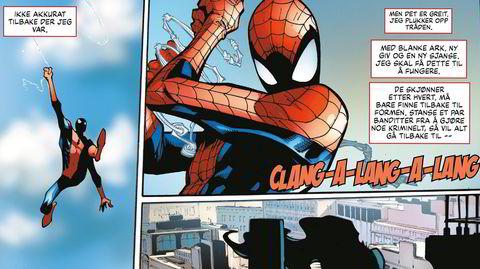 Spider-Man vender tilbake på norsk, for første gang siden 2013.