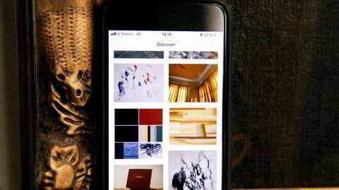 Atelierbesøk. Med appen Atelier kan man utforske kunst fra over 300 kunstnere, og se hvem som holder til i atelierene i nabolaget.