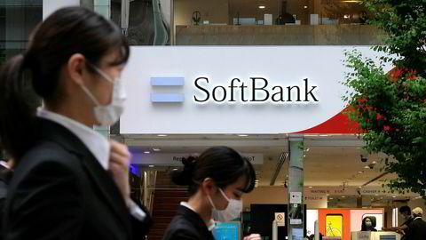 Softbank har jaktet på oppstartsselskaper over hele verden de siste ti årene. Mandag la selskapet frem rekordstore tap for første kvartal.